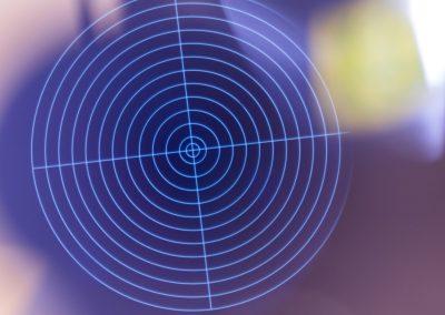 target pattern fluorescent