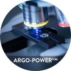 Photo of Argo-POWER package including slide and box