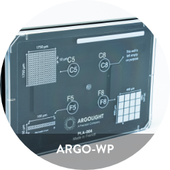 Argo-WP is a fluorescent calibration* microplate for plate readers