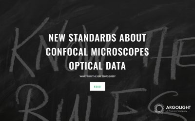 New standards about Confocal microscopes optical data: what's in the ISO 21073:2019?
