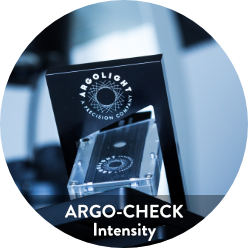 Image of Argo-Check Intensity, a fluorescent calibration slide to check intensity variation on your fluorescent imaging systems.