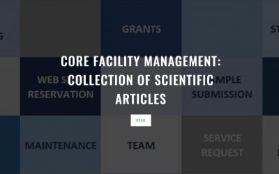Core Facility Management: collection of scientific articles