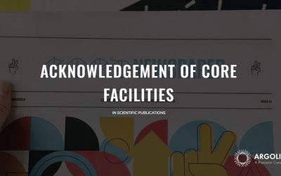 Acknowledgement of Core Facilities in scientific publications