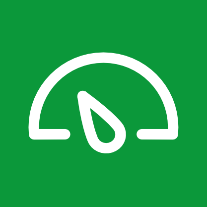 Power meter test icon